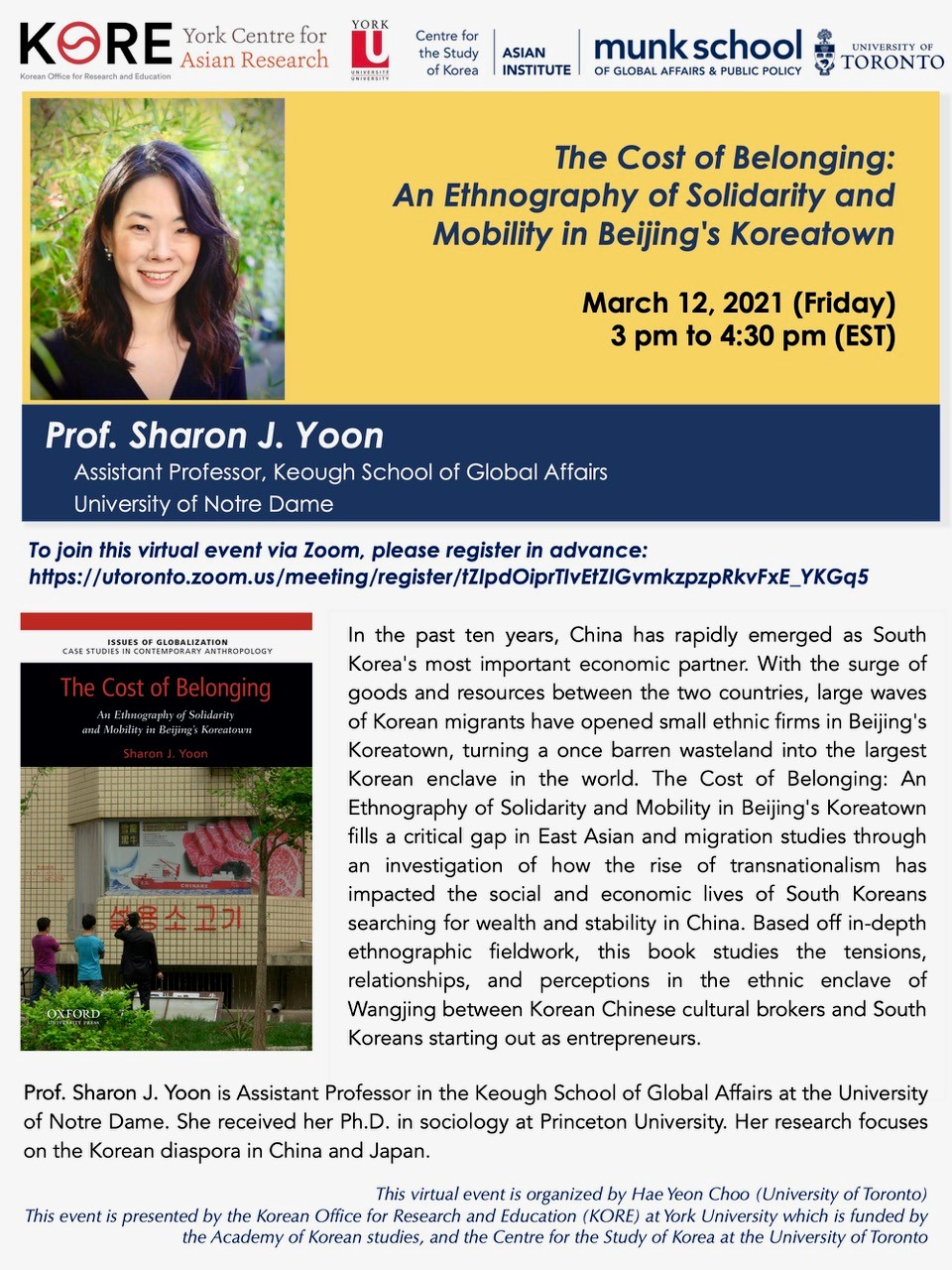 The Cost of Belonging: An Ethnography of Solidarity and Mobility in Beijing's Koreatown