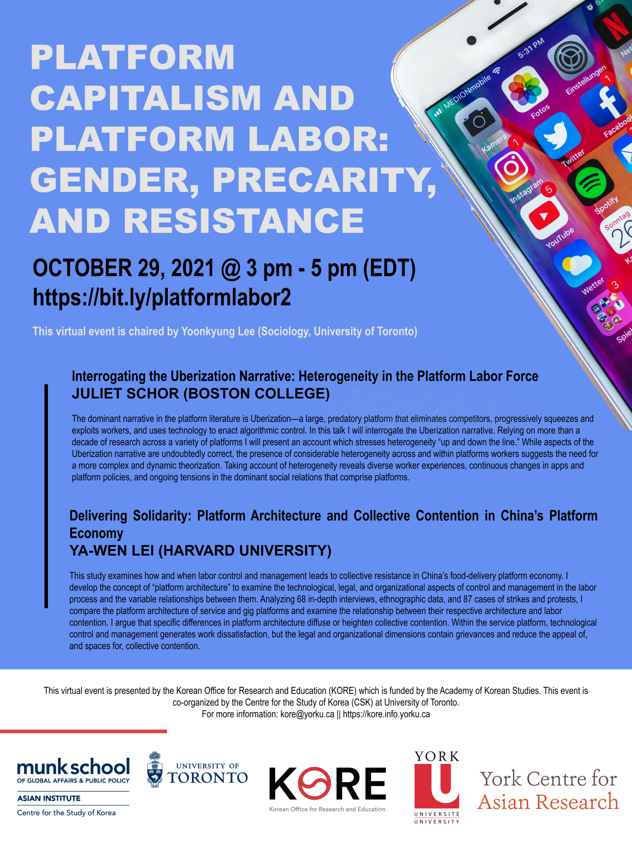 Platform Capitalism and Platform Labor: Gender, Precarity, and Resistance Part 2